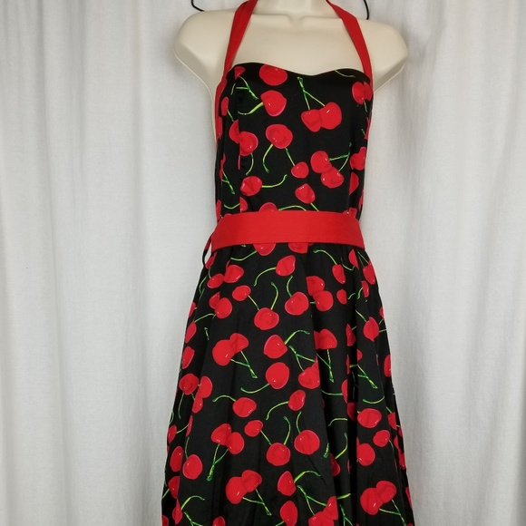 Hearts and Roses Dresses & Skirts - Hearts and Roses women's rockabilly halter dress